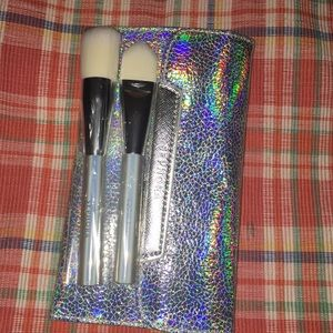 Brushes and case